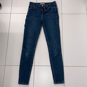Topshop Jamie High Waisted Jeans